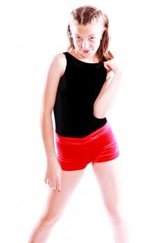 Bloch Leos Velvet Shorts, šortky pre deti