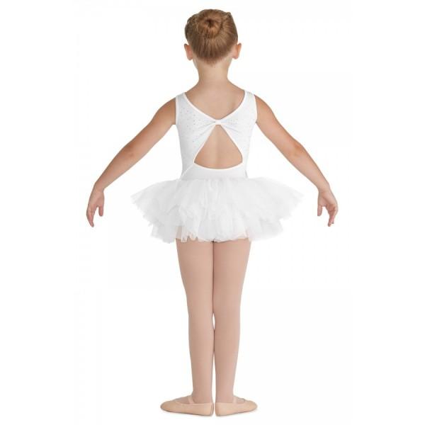 <span style='color: red;'>Predaj skončil</span> Bloch Leona, detský dres s tutu sukničkou