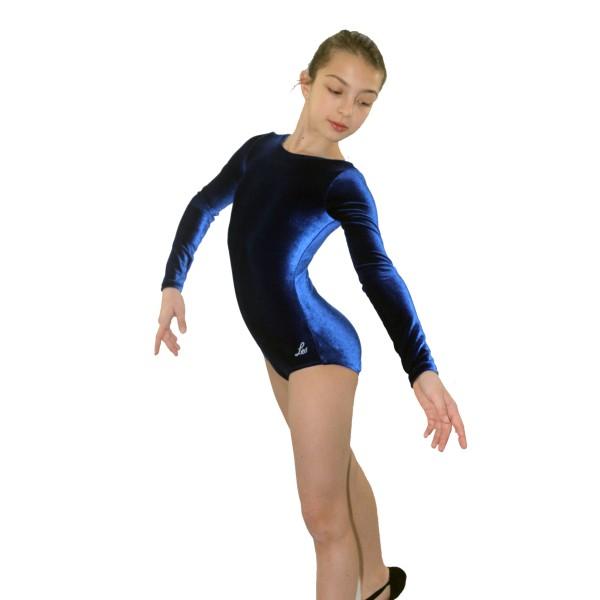 Bloch Leo Velvet, detský gymnastický dres