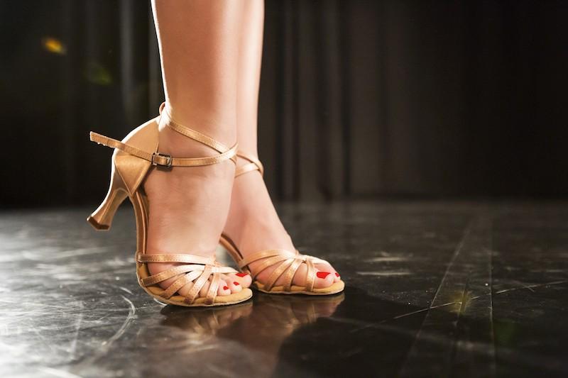 Vhodná tréningová obuv na spoločenský tanec?