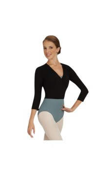 Capezio Cross Over Top, na zahriatie