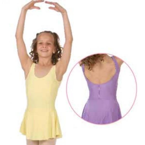 Sansha Fiona E516M, detský baletný dres so sukničkou