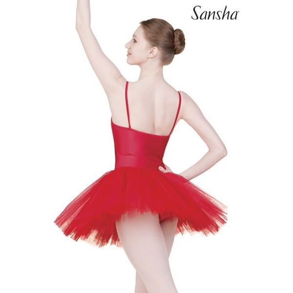 Sansha Dunya TF103C, baletné šaty s tutu sukňou