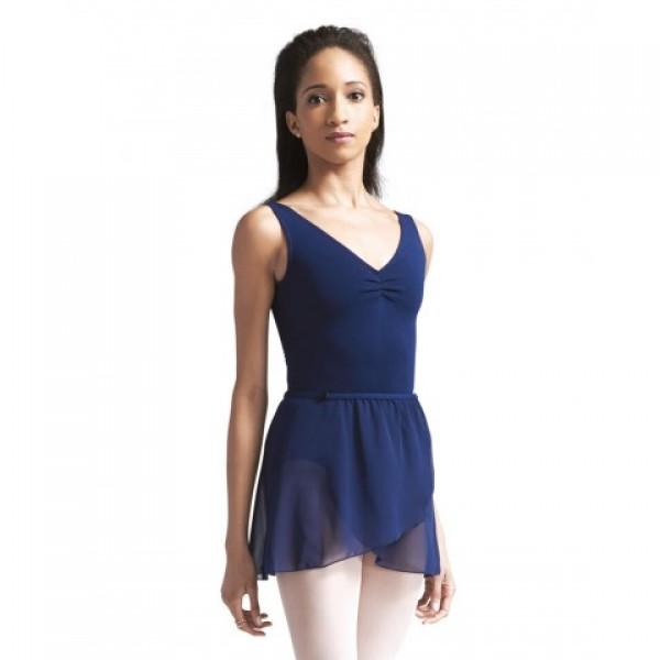 Capezio  CAD201B, baletný dres na hrubé ramienka