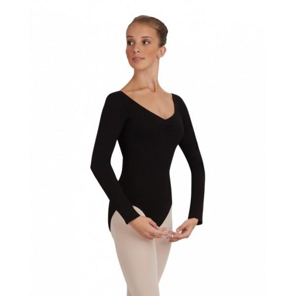 Capezio baletný dres s dlhým rukávom