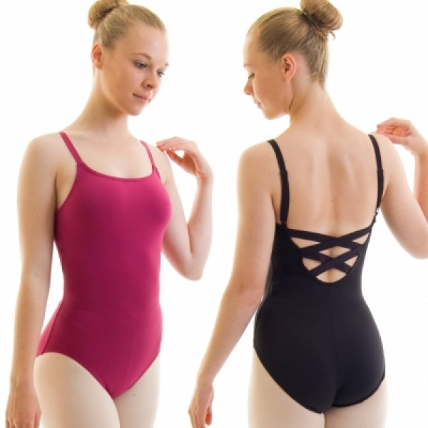 Capezio BD101, baletný dres W/X cross straps