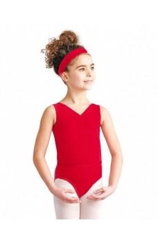 Capezio  CAD201C, baletný dres na hrubé ramienka