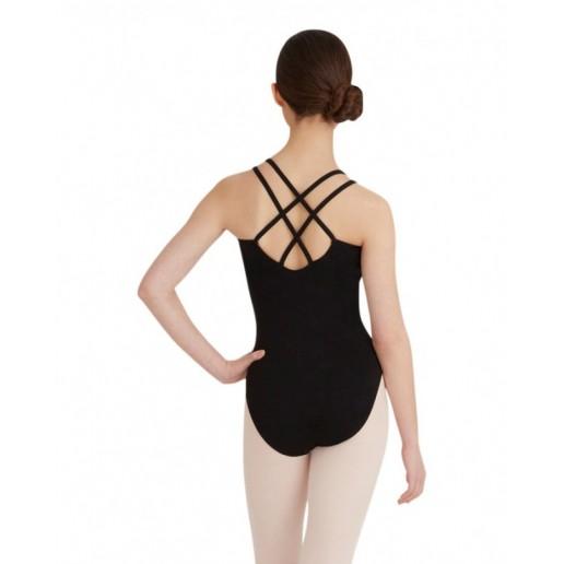 Capezio Double Strap Camisole Leotard CC123, baletný dres