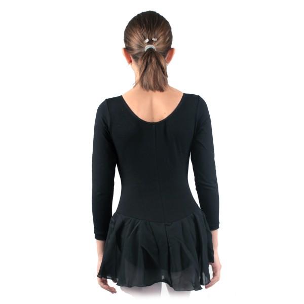 Capezio dres s dlhým rukávom a so sukňou