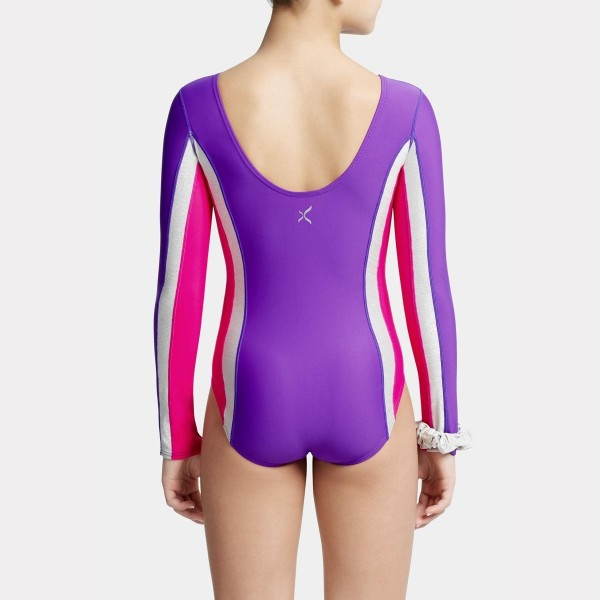 Capezio detský gymnastický dres s dlhým rukávom
