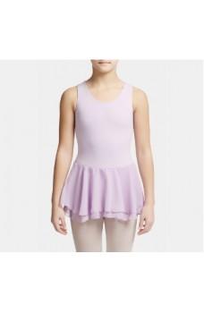 Capezio baletný dres s dvojitou sukňou