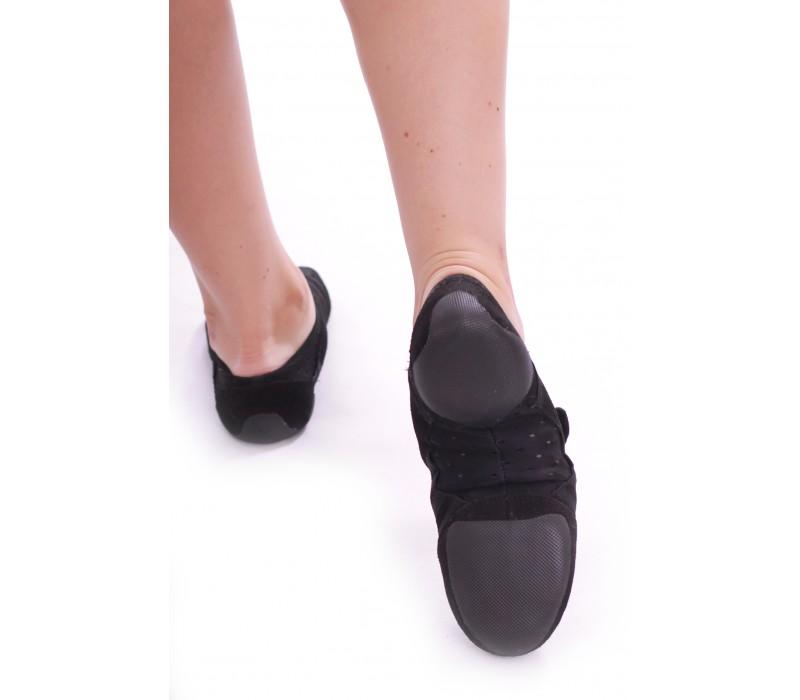 Capezio Jag PP15A, jazzové topánky - Čierna