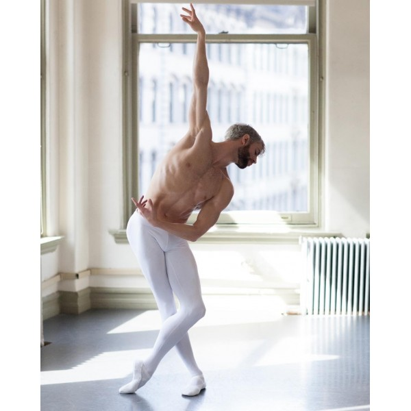 Capezio MR JAMES WHITESIDE BALLET SHOE, baletné cvičky