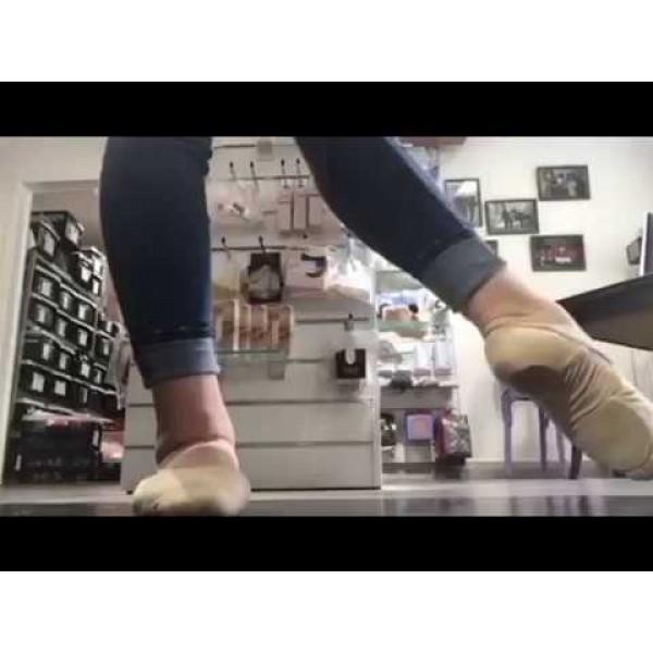 Capezio HANAMI 2037W, baletné cvičky