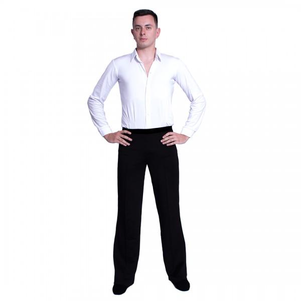 Pánska košeľa na spoločenský tanec basic 700