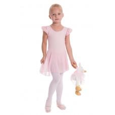 Capezio detský baletný dres so sukňou