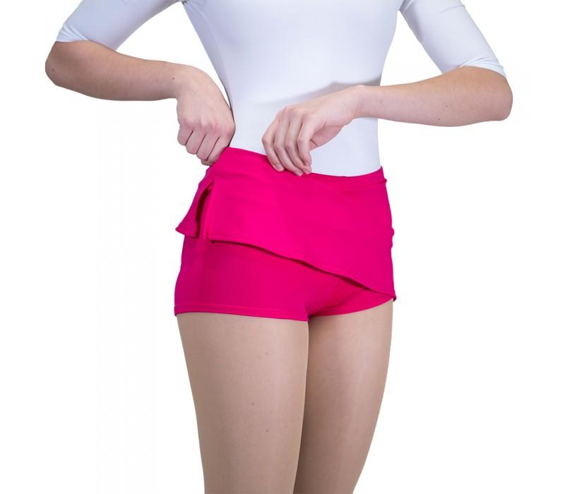 Capezio, sukňa s krátkymi nohavicami - Ružová cherry Capezio