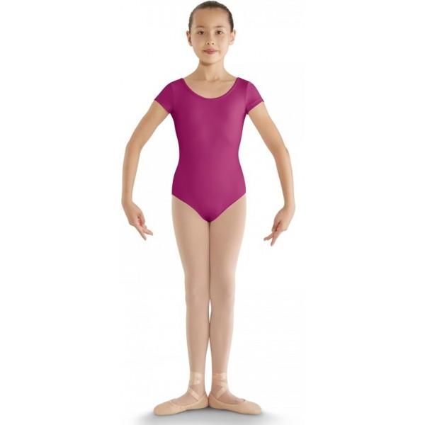Bloch CL8832 strap back cap sleeve leotard, detský baletný dres