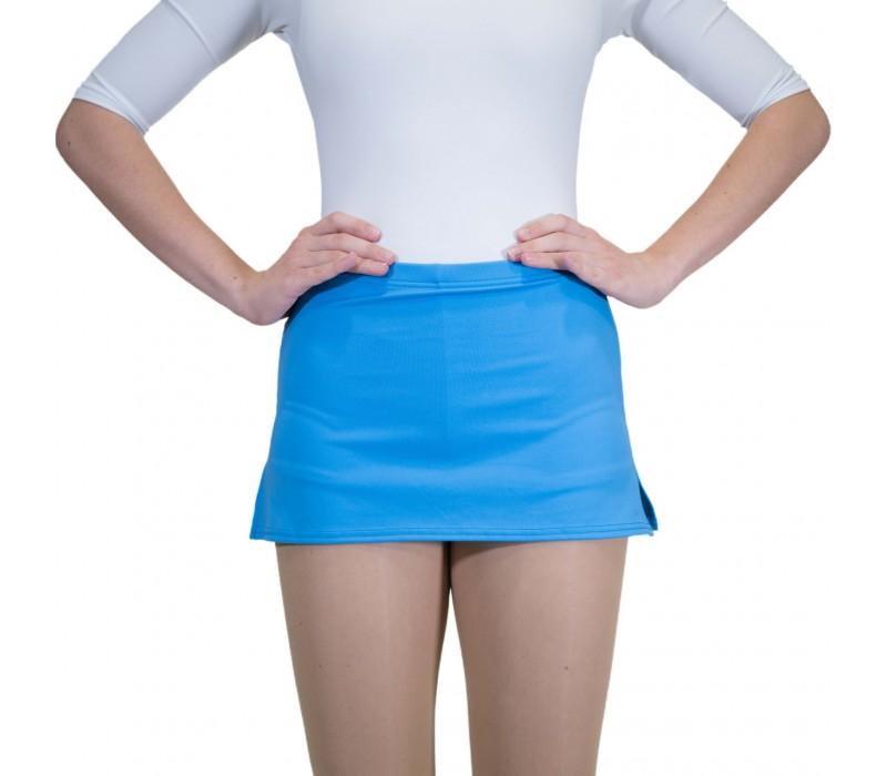Capezio, sukňa s krátkymi nohavicami - Modrá - columbua blue