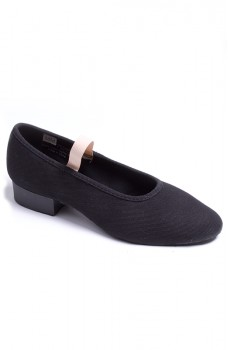 Sansha Rondo polka, plátené charakterové topánky