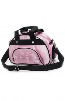 Detská ružová taška s obrázkom špičiek