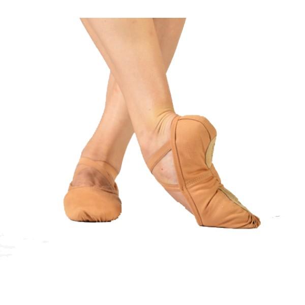 Sansha Pro, plátené baletné cvičky