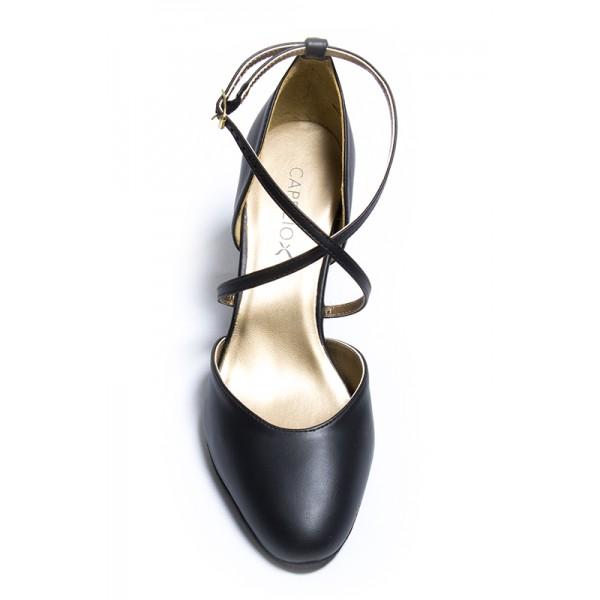 Capezio X-Strap Pump, spoločenské topánky