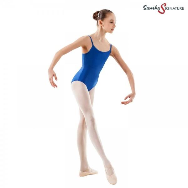 Sansha Stacie, baletný dres na tenké ramienka