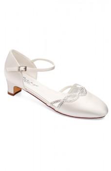 Annie, svadobné topánky