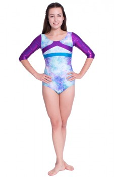 Capezio Gymnastics Arch Back, gymnastický dres pre ženy