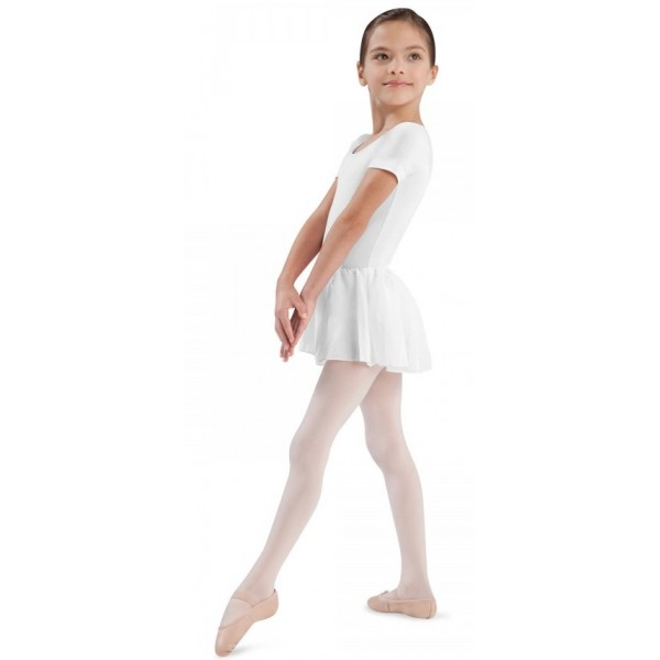 Bloch Tiffany, bavlnený dres s krátkym rukávom a so sukničkou