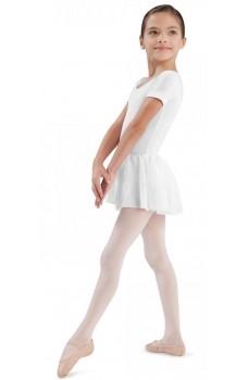 Bloch Tiffany CL5342, dres s krátkym rukávom a so sukničkou