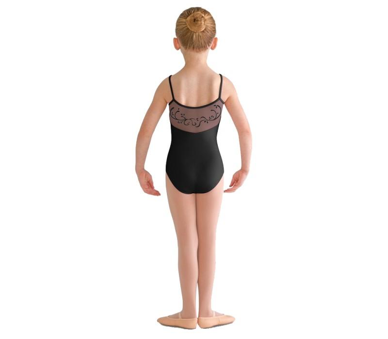Bloch ALITA, detský dres na ramienka - Čierna