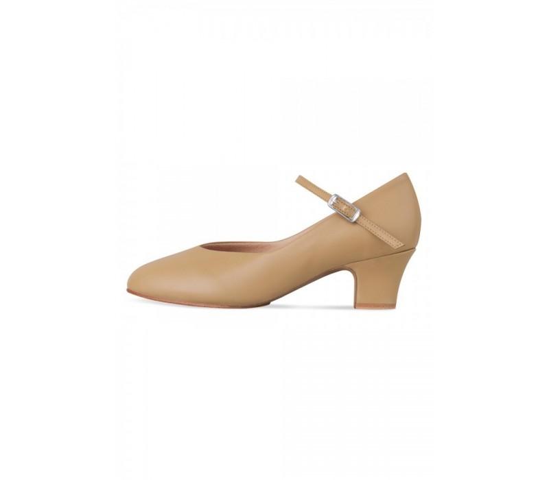 Bloch Broadway-lo, charakterové topánky - Hnedá tan Bloch