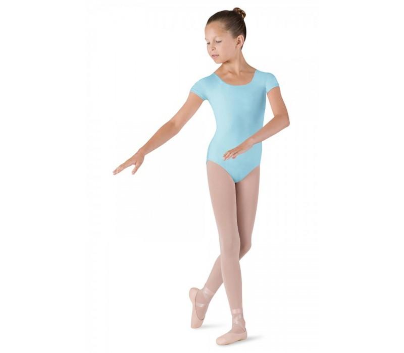 Bloch Dujour, dres s krátkym rukávom  - Modrá pastelová Bloch