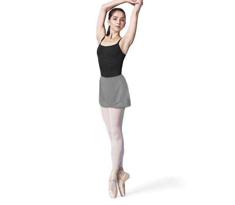 Bloch zavinovacia baletná sukňa R9721B - Modrá námornícka bloch