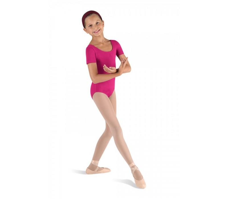 Bloch Ballet, dres s krátkym rukávom - Fialová berry Bloch