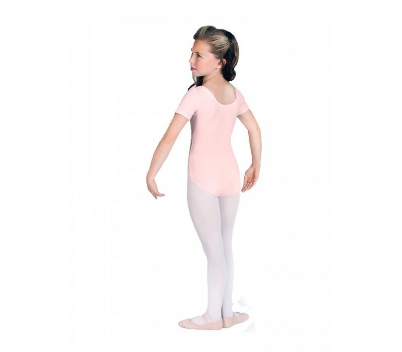 Bloch Ballet, dres s krátkym rukávom - Ružová svetlá Bloch