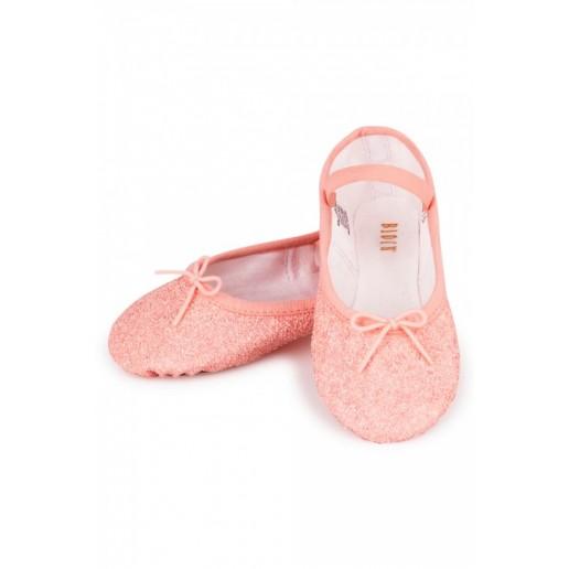 Bloch Sparkle, trblietavé baletné cvičky pre deti