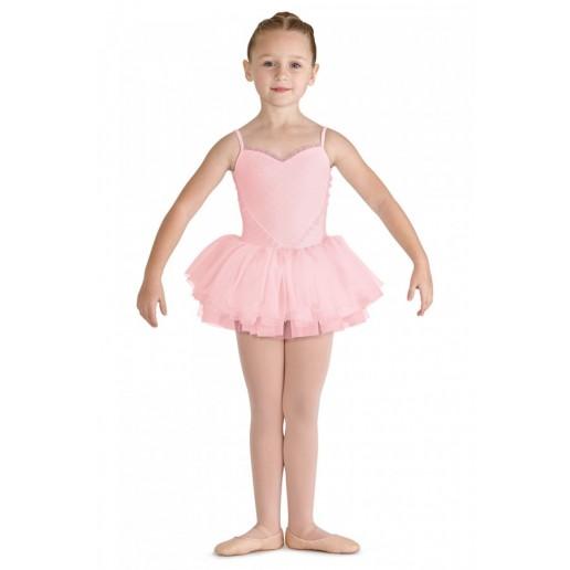 Bloch Valentine, detský dres s tutu sukničkou