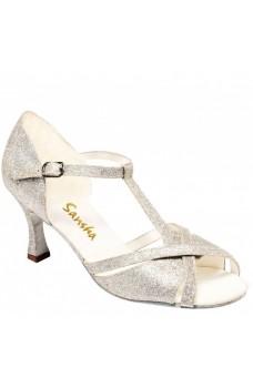 Sansha Tina BR30008GL, topánky na spoločenský tanec