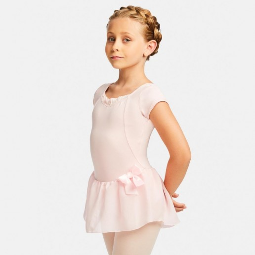 Capezio Cap Sleeve dress, dres so sukničkou
