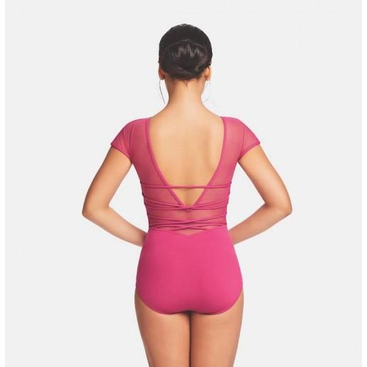 <span style='color: red;'>Predaj skončil</span> Capezio Strappy back Cap Sleeve Leotard, baletný dres