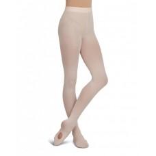 Capezio ultra soft transition tights, konvertibilné pančucháče pre deti