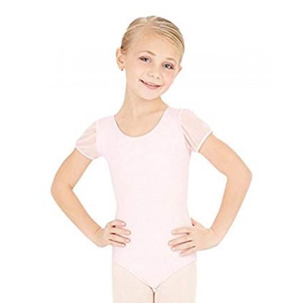 Capezio puff sleeve leotard, detský baletný dres