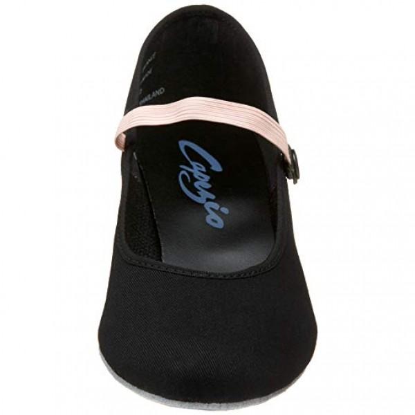 Capezio Academy character, plátené charakterové topánky pre deti