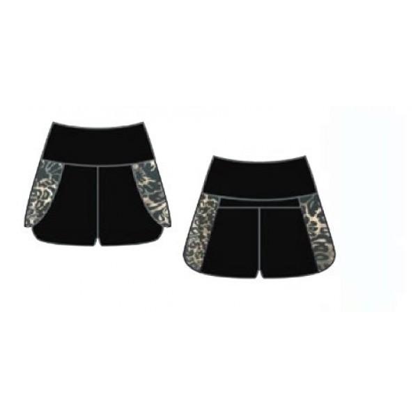 Capezio Damask Shorts, dievčenské šortky
