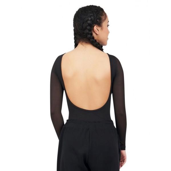 Capezio Dance Active Front Keyhole long sleeve leo, dámsky dres