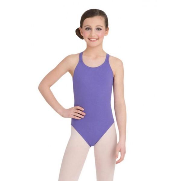 Capezio Double strap camisole leotard, detský baletný dres