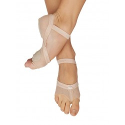 Capezio Full Body footUndeez Foot Thongs, ťapky s pätou